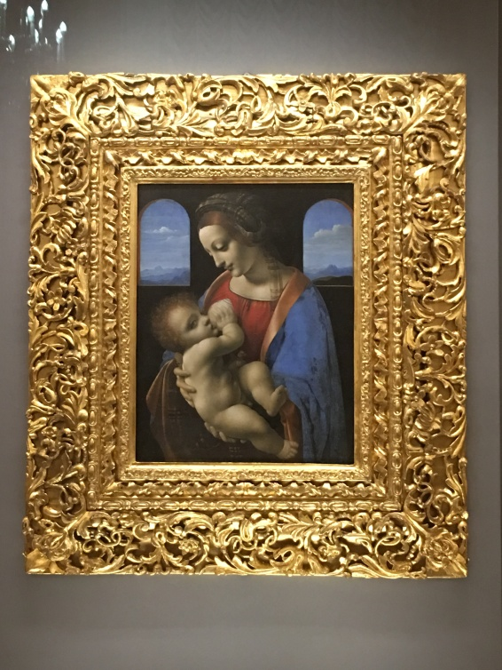 "Da Vinci's ""Madonna Litta"""